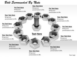 0514 Machine Tools Nuts And Bolts Image Graphics For Powerpoint