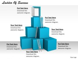 0514 Make A Ladder Of Success Image Graphics For Powerpoint