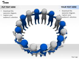 0514 Make A Strong Team Image Graphics For Powerpoint
