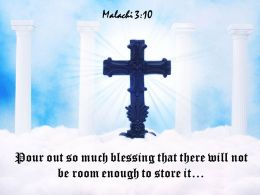 0514 Malachi 310 Pour out so much PowerPoint Church Sermon