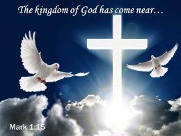 0514 Mark 115 The kingdom of God PowerPoint Church Sermon