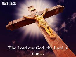 0514_mark_1229_the_lord_our_god_power_powerpoint_church_sermon_Slide01