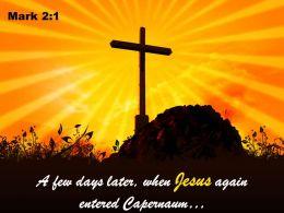 0514 Mark 21 A Few Days Later When Jesus Powerpoint Church Sermon