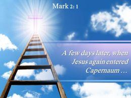 0514 Mark 21 A few days later when PowerPoint Church Sermon