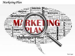 0514 Marketing Plan PowerPoint Slide Template