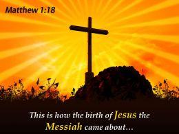 0514 Matthew 118 This Is How The Birth Powerpoint Church Sermon