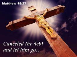 0514 Matthew 1827 Canceled The Debt Power Powerpoint Church Sermon