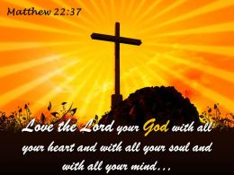 0514_matthew_2237_love_the_lord_your_god_powerpoint_church_sermon_Slide01