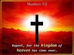 0514 Matthew 32 The kingdom of heaven PowerPoint Church Sermon