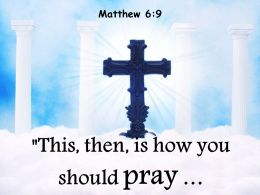 0514 Matthew 69 How You Should Pray Powerpoint Church Sermon