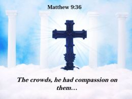0514 Matthew 936 He was moved with pity PowerPoint Church Sermon