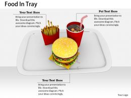 0514 Meal Of Coke Burger And Fries Image Graphics For Powerpoint