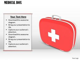 0514 Medical First Aid Box Image Graphics For Powerpoint