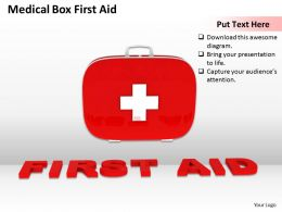 0514 Medical First Aid Kit Image Graphics For Powerpoint