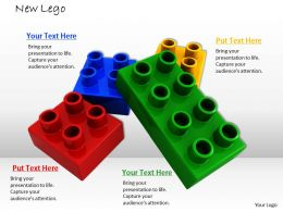 0514 Multicolored Lego Blocks For Process Image Graphics For Powerpoint