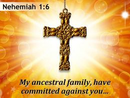0514 Nehemiah 16 My Ancestral Family Have Committed Powerpoint Church Sermon