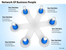 0514 Network Of Business People Image Graphics For Powerpoint