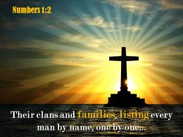 0514 Numbers 12 Their Clans And Families Powerpoint Church Sermon