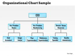 0514 organizational chart sample Powerpoint Presentation