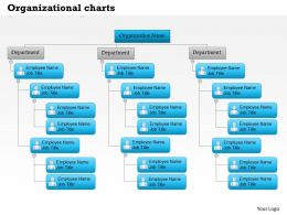 0514 Organizational Charts Templates Powerpoint Presentation