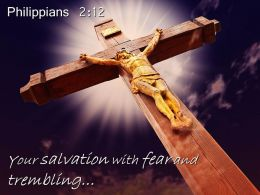 0514 Philippians 212 Your Salvation With Fear And Trembling Powerpoint Church Sermon