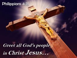 0514 Philippians 421 People In Christ Jesus Powerpoint Church Sermon