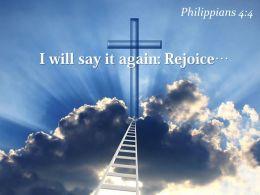 0514 Philippians 44 I Will Say It Again PowerPoint Church Sermon