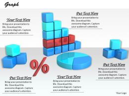 0514 Pie And Bar Graph Of Business Results Image Graphics For Powerpoint