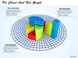 0514 Pie Chart And Bar Graph Image Graphics For Powerpoint
