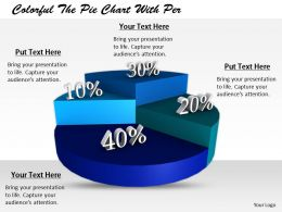 0514 Pie Chart Illustrating Numerical Proportion Image Graphics For Powerpoint