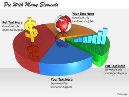 0514 Pie For Global Market Research Image Graphics For Powerpoint