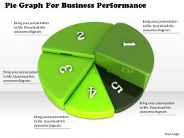 0514 Pie Graph For Business Performance Image Graphics For Powerpoint