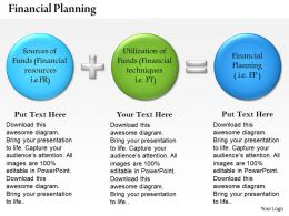 0514 Presentations Of Financial Planning Powerpoint Presentation