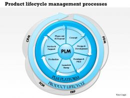 0514 Product Lifecycle Management Processes Powerpoint Presentation