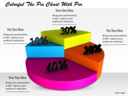 0514 Profit Percentage On Pie Chart Image Graphics For Powerpoint