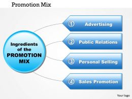 0514 promotion mix Powerpoint Presentation