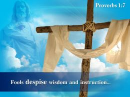 0514 Proverbs 17 Fools Despise Wisdom And Instruction PowerPoint Church Sermon
