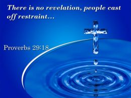 0514 Proverbs 2918 There Is No Revelation People Powerpoint Church Sermon