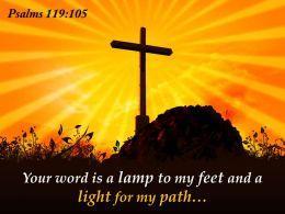 0514 Psalms 119105 Nun Your Word Is A Powerpoint Church Sermon