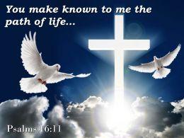 0514 Psalms 1611 The Path Of Life Powerpoint Church Sermon