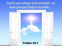 0514 Psalms 461 God Is Our Refuge And Power PowerPoint Church Sermon