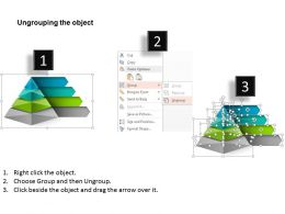 0514 Pyramid Presentation Design With 4 Stages Powerpoint Presentation