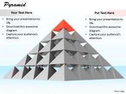 0514 Pyramid Structure Business Design Image Graphics For Powerpoint