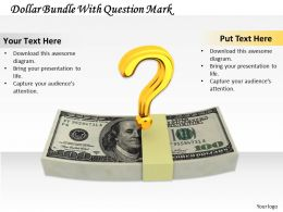 0514 Raise The Question For Money Image Graphics For Powerpoint