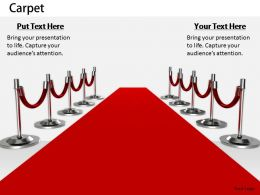 0514 Red Carpet For Luxury Service Image Graphics For Powerpoint