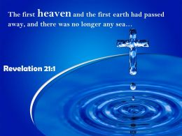 0514 Revelation 211 The First Heaven And The First Earth Powerpoint Church Sermon