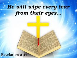 0514 Revelation 214 He Will Wipe Every Tear Powerpoint Church Sermon
