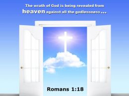 0514 Romans 118 God Is Being Revealed From Heaven Power Powerpoint Church Sermon