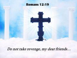 0514 Romans 1219 Do Not Take Revenge My PowerPoint Church Sermon