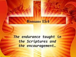 0514 Romans 154 You Have Any Encouragement PowerPoint Church Sermon